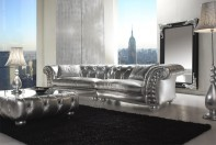 UNIQUE TREND CLASSIC - Sofa Mod David (silver version)