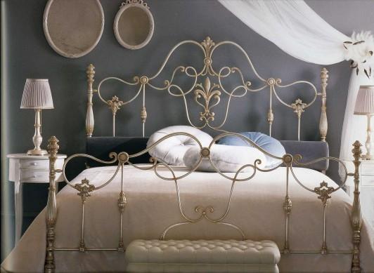 The collection GIUSTI PORTOS presents Bed Mod. Erald