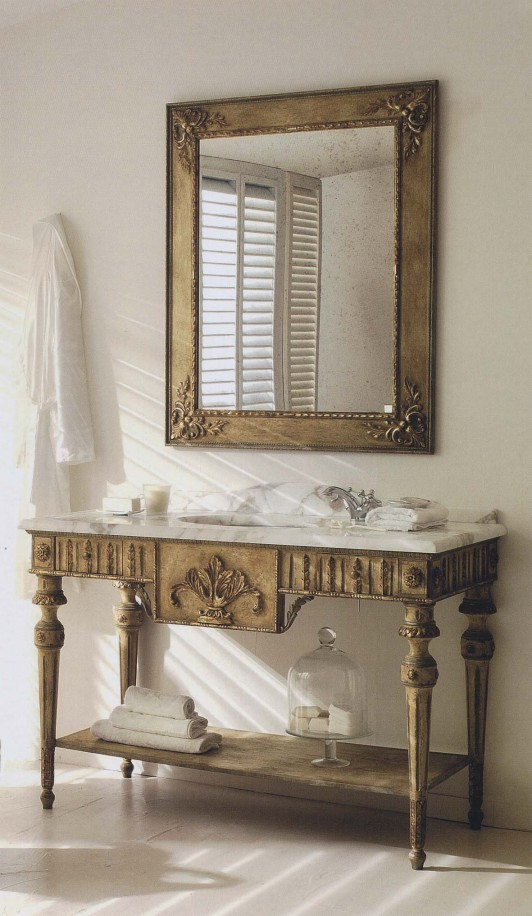The collection SILVANO GRIFONI presents Bathroom Console Art 3005