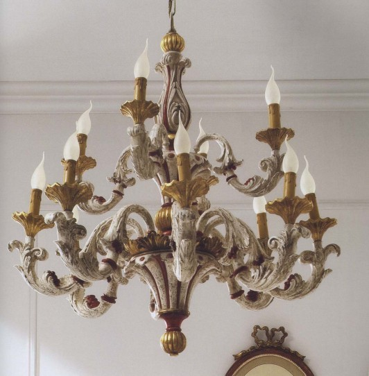 The collection SILVANO GRIFONI presents Chandelier Art. 525