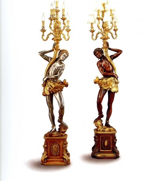 The collection SILVANO GRIFONI presents Candlestick Art. 3199