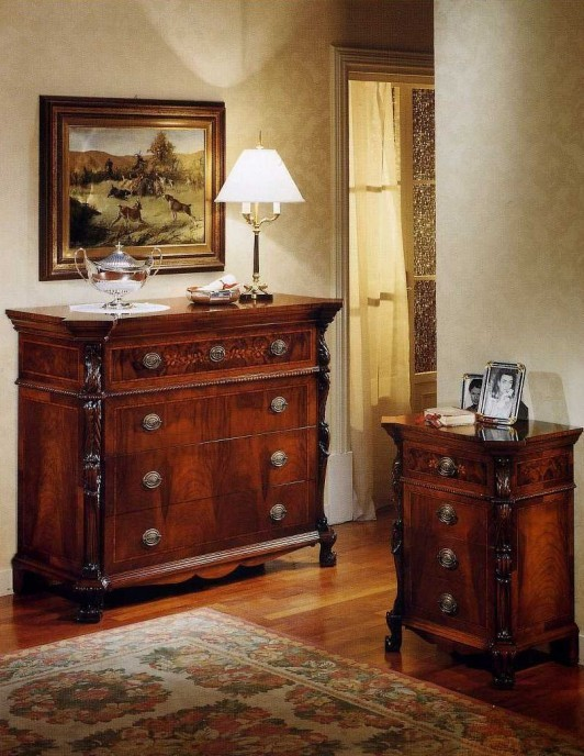 SAN VITO - Dresser Art. 03185 - Bedside table Art. 03185